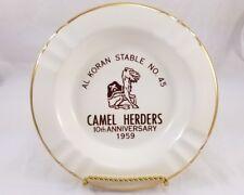 '59 Shriners Mason Al Koran Stable No. 45 Camel Herders Cleveland 10th Ashtray