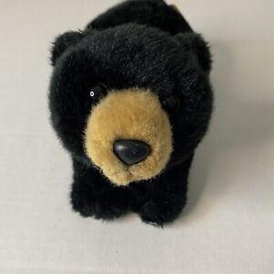 Miyoni by Aurora Plush Black Bear approximately Small