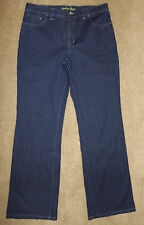 Fresh Produce Jeans Sz 8 Dark Wash Boot Cut Cotton Stretch Womens