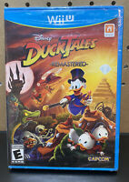 DuckTales - Remastered [Nintendo Wii U, NTSC Video Game, Adventure] NEW SEALED