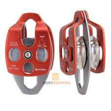 24kN Aluminium Alloy Trolley Sheave Block and Tackle Fast Speed Pulley System