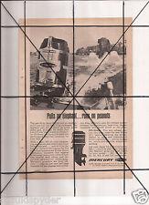Vintage 1965 Popular Mechanics Magazine Ad A128 Mercury 900 Outboard Elephant
