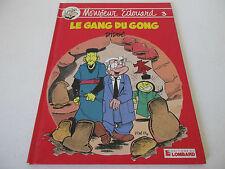 BD MONSIEUR EDOUARD Tome 3 LE GANG DU GONG - Didgé EDITIONS DU LOMBARD