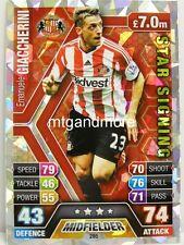 Match Attax 2013/14 Premier League - #285 Emanuele Giaccherini - Star Signing