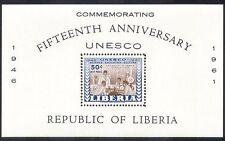Liberia 1961 UN/UNESCO/Education/Science/University 1v m/s (n39984)