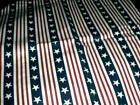 Longaberger Large Picnic Basket Liner - All American Stars & Stripes