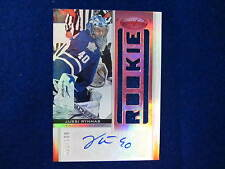 2012 13 Certified Jussi Rynnas mirror red jersey autograph Maple Leafs # 32 /100