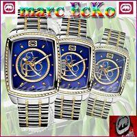 MARC ECKO MEN'S THE CLIENTELE BLUE DIAL EXCLUSIVE WATCH E11541G2