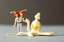 Osamu Tezuka's Phoenix Capsule Toy Mini-Figure Octopus and Two Headed Lady