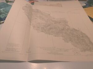 1931 map USGS Togographic map 1st proof Lost Creek Drainage Basin Colorado