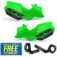 UFO Vulcan Motocross & Enduro Handguards - KX Green