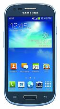 New - Samsung Galaxy S3 III Mini SM-G730A Blue 8GB (AT&T) 5MP Camera Smartphone