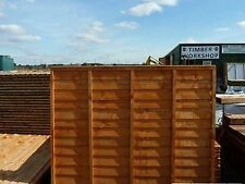 "Bargain Waney Lap fence panels 6ft x 6ft heavy duty  ""Special Offer £15.95"""
