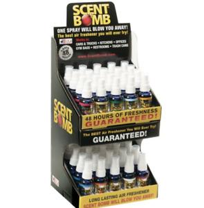 Scent Bomb Spray Car Home Air Freshener Freshner Fragrance - Assorted 5 Pack