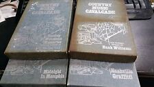 8 Track COUNTRY MUSIC CAVALCADE 4 Boxed Sets Total of 8 tapes