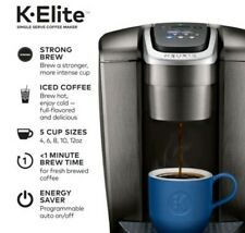 BRAND NEW Keurig K-Elite,  K-Cup Pod Coffee Machine. Color Brushed Slate