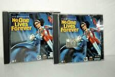 NO ONE LIVES FOREVER GIOCO USATO PC CD ROM VERSIONE ITALIANA GD1 47754