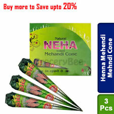Buy 3 X Mehendi Mehndi Henna Cone Natural Herbal Mehendi
