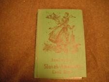 The Anniversary Slovak-American Cook Book 1892 60th Anniversary 1952 Chicago Ill