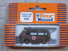 Roco Minitanks (New) Modern US Ford FK 1000 Ambulance Van Lot 926K