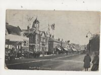 High Street Christchurch Hampshire Vintage Postcard G Ayles 670b
