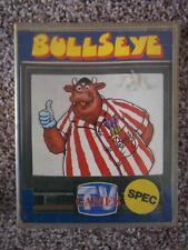 A Vintage Retro Rare 1980's Sinclair Spectrum/ZX Plus Game Big Box Bullseye TV