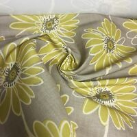 BEAUTIFUL FLORAL PRINT FIRE FROOF SUPER LUXURIOUS FABRIC BY PANAZ 7.2 METRES