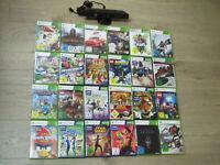 XBOX 360 Kinect Spiele Adventures, Sensor, Rayman, Lego Baman, Sports, Star Wars