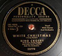 Bing Crosby - White Christmas / God Rest Ye Merry Gentlemen E- A1