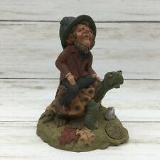 1995 Roman Finnian's Blarney Stone Senan Leprechaun Turtle Figurine