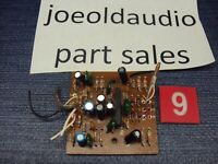 Radio Shack/Realistic LAB 89 Turntable PRE AMP Board. Parting Out Entire LAB 89