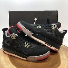 Nike Air Jordan Retro IV Bred Size 5.5y Black Oreo DB CDP XI XII XIII XIV III I