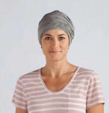 NEW Amoena daylily knit turban headwear Grey