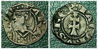 1291-1327 Spain - Aragon Jaime II obolo Billon Dinero Hammered Coin