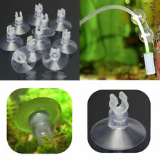 For Aquarium Fiah Tank Sucker Holders Suction Cup Air Line Tube Hose Pump 10PCS