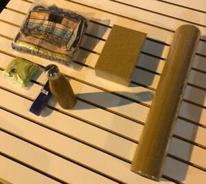 Charity Listing - VaYo Cork Yoga Mat Kits - 6 Piece Set