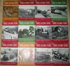 Model Railway News britische Modelleisenbahn Zeitschrift Jahrgang 1952