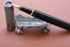 """Très Rare stylo plume Michel AUDIARD """"cartons recyclés"""" avec support de 2007"""