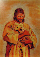Jesus Christ ACEO Limited Edition Giclee Jesus and Lamb Painting