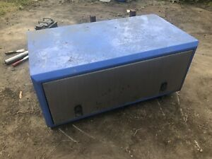 lorry tool box Side Lockers X 2 Stainless