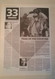 GEORGE MICHAEL - WHAM 'The Final' album review 1983 UK ARTICLE / clipping