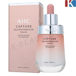 AHC Capture Solution Prime Glow Ampoule 50ml Glutathione Ampoule Moist Serum NEW