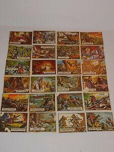 1962 TOPPS CIVIL WAR NEWS TRADING CARD LOT of 24