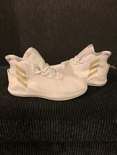 ADIDAS D ROSE Uk 14.5 Basketball Trainers! White