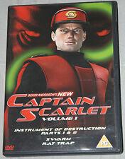 CAPTAIN SCARLET-Instrument of Destruction Parts 1 & 2 ; Swarm; Rat Trap - DVD