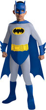 OFFICIAL BATMAN THE BRAVE & THE BOLD BOYS COSTUME CHILD SIZE LARGE 12-14