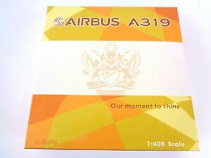Pheonix 1/400 Aircraft Airbus A319 British Airways Olympic Flame G-EUPC Rare