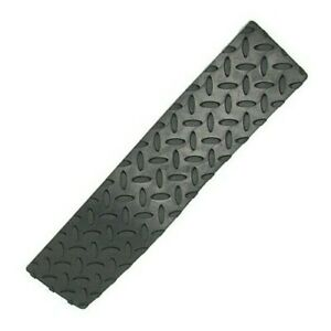 """Self Adhesive Rubber Safety Non Skid Tread for Steps  17"""" x 4"""" Peel and Stick."""