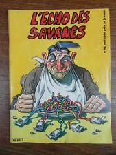 BD CURIOSA SEX HUMOUR / L ECHO DES SAVANES / No 64 Mai 1980