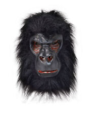 Zombie chimp scimmia monkey lattice e pelliccia Maschera Spaventoso Halloween Fancy Dress